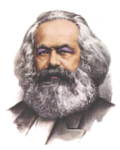 Карл Маркс //chewbakka.com