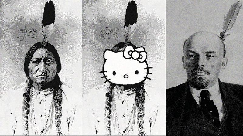 Lenin Hello Kitty! indians
