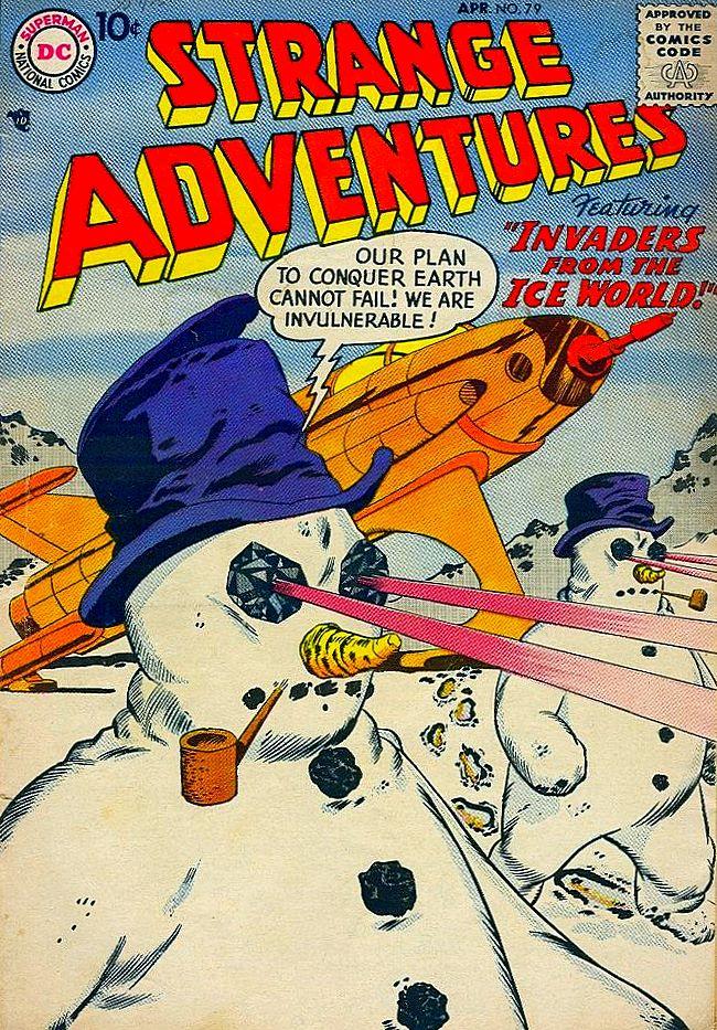 Strange Adventures #79 (April 1957) the story