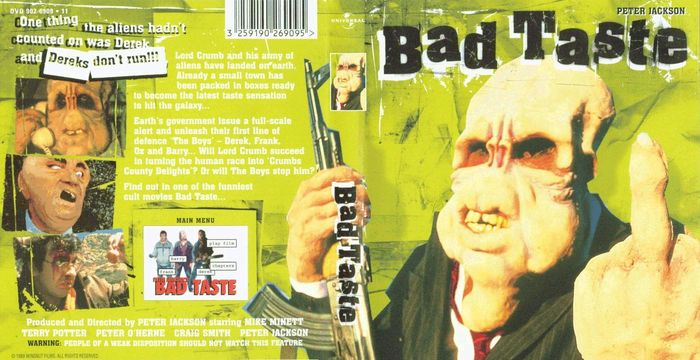 bad taste uk dvd cover