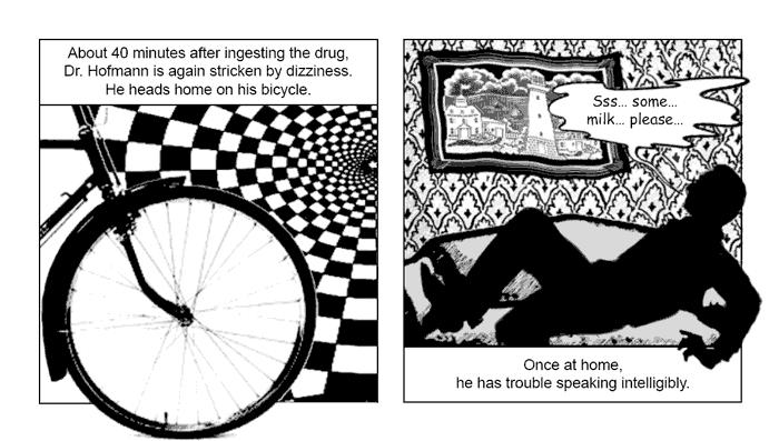 Альберт Хофманн День Велосипеда