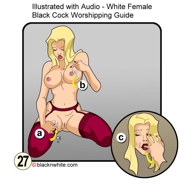White Female Black Cock Worshipping Guide