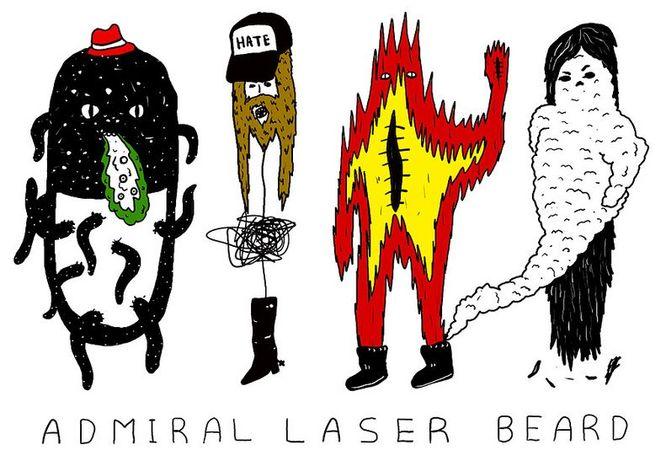 Admiral Laser Beard //chewbakka.com