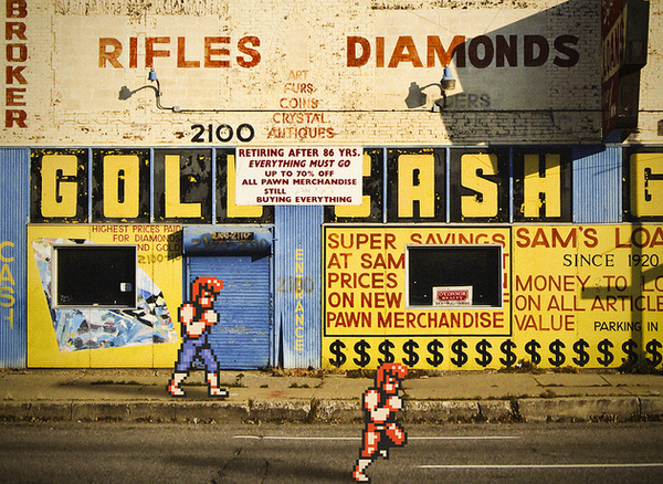 Video Games vs. Real Life by Aled Lewis //chewbakka.com
