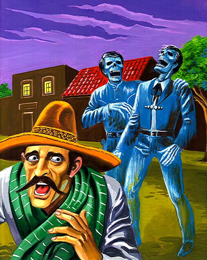 Mexican pulp art paintings // chewbakka.com